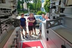 Firma ITEM - samochód prezentacyjny w ZSTE w Skawinie - 04.06.2019r.
