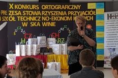 X Konkurs Ortograficzny o Pióro Preszesa Stawoarzyszenia ZSTE w Skawinie - 31.05.2019r.